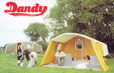 Dandy folding campers