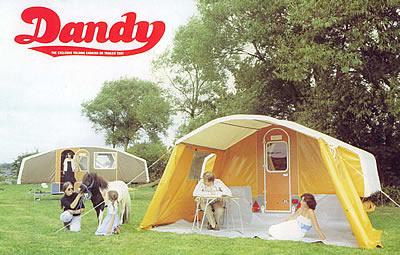 Dandy folding campers